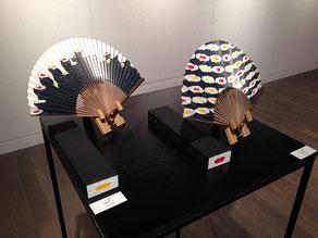 7.8-20「日本画家の扇子・団扇展」(gallery maronie/京都)