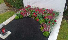 Gärtnerei Lächele - Grabanpflanzung