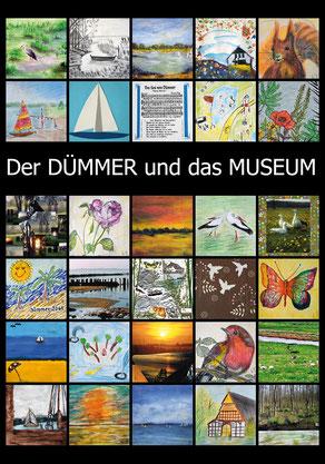Kunstplakat - Der DÜMMER und das MUSEUM