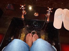 高級感ある?足浴槽