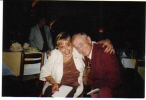 A.M.Bonfiglio con il poeta Evtusenko