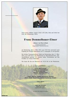 Demmelbauer-Ebner Franz (Moa z'Bua)