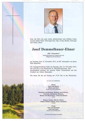 Demmelbauer-Ebner Josef (Öhl)