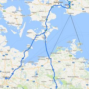 Karte Norwegen Dänemark.Nach Norwegen Mit Dem Auto Reisen Routen Karten Und Tipps Mark