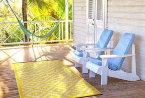 alfombra de plástico reciclado www.invertirenfamilia.com