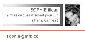 (Your message to Sophie Fileau)