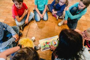Schlupsi, Kindergarten, Grundschule, Fairness, Gewissen, Selbstschutz,  Konzept