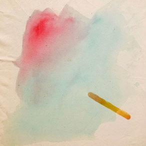 The Popsicle's Death Acrylic On Canvas 40x40cm 2019