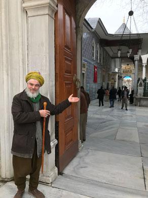 Shaykh Abdul Shakur bei Eyup Sultan in Istanbul 2018