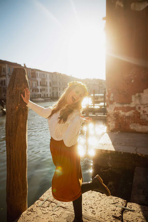 Photoshooting in Venice Italy