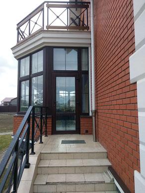 Ограждения балкона и крыльца
