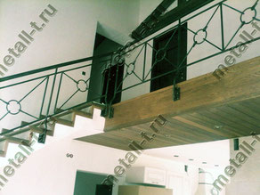 Ограждения лестницы