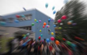 Luftballons, Fest der Vielfalt, MGH Neuruppin, 9.6.2018