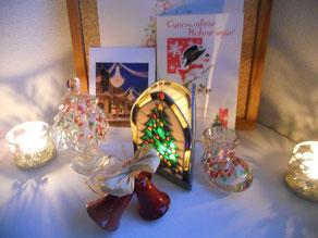 クリスマスのお気に入りスペース。