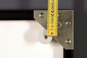Anleitung Bildaufhängen mit Exzenter - Gibswand