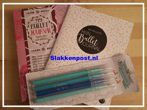 Bullet journal - starterpakket- slakkenpost.nl