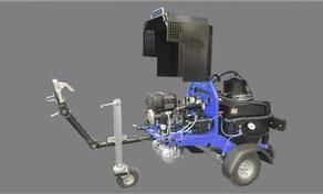 Bitumenspritzwagen Bitumenspritze 250Lt Heizbar Motorbetrieben Emulsion Spritzbalken