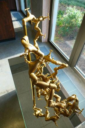 Lâcher la bride, sculpture, 2020