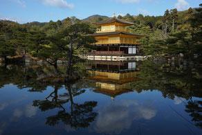 鹿苑寺の夢(京都、金閣) (全紙)
