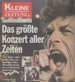 Rolling Stones, Spielberg 1995