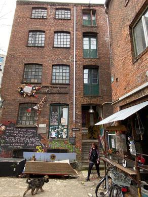 Bild: Gängeviertel - das Tischlerhaus