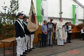Messe im Festzelt mit anschließendem Kaiserschießen