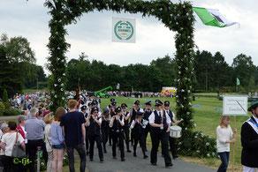 Jubiläum 2017 Festakt mit Sternmarsch