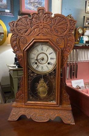 New Haven American Oak Kitchen Clock $99.00