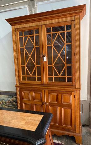 Two-Piece Glass Door Two Lower Door Cabinet $395.00