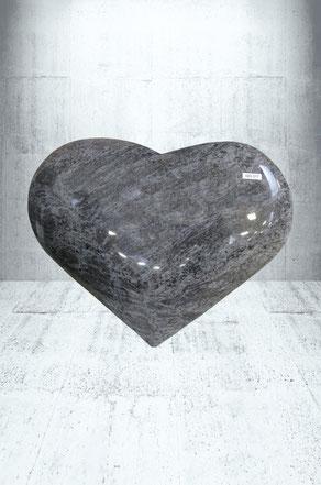 Grabplatte Herz