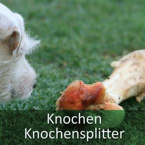 Viele Tierärzte verbringen ihren Notdienst damit, Fremdkörper wie KNochen aus dem Maul/Hals/Darm zu entfernen....