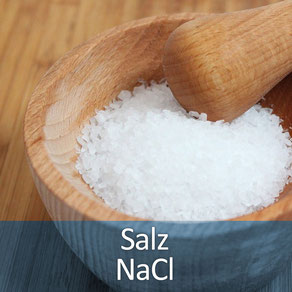 Salz sollte man nur nach Rücksprache mit dem Tierarzt verwenden!