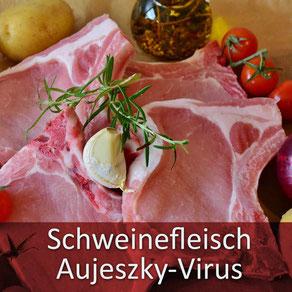Ihr Tierarzt Dr. Birge Herkt rät: bitte kein rohes Schweinefleisch an Ihre Tiere verfüttern!