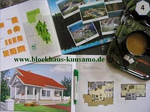 Kataloghaus - Typenhaus - Wohnblockhaus - Holzhaus in Blockbauweise  - Hauskauf - Planen - Bauen