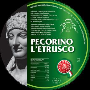 maremma sheep sheep's cheese dairy pecorino caseificio tuscany tuscan spadi follonica label italian origin milk italy aged matured etrusco classic