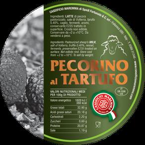 maremma new taste sheep sheep's cheese dairy caseificio tuscany tuscan spadi follonica label italian origin milk italy matured aged flavored flavor pecorino al tartufo truffle aromatic