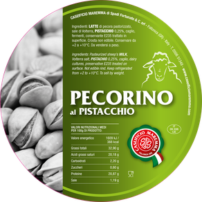 pecorino maremma new taste sheep sheep's cheese dairy caseificio tuscany tuscan spadi follonica label italian origin milk italy matured aged flavored flavor aromatic pistachio