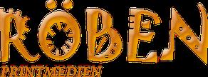 Logo Röben Printmedien von Astrid Röben