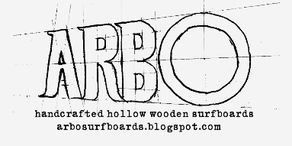 ARBO handcrafted hollow wooden surfboards
