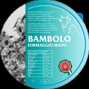 maremma misto mucca pecora formaggio caseificio toscano toscana spadi follonica etichetta italiano origine latte italia bambolo fresco vacca bovino