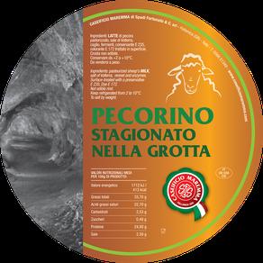 maremma pecora formaggio pecorino caseificio toscano toscana spadi follonica etichetta italiano origine latte italia stagionato grotta