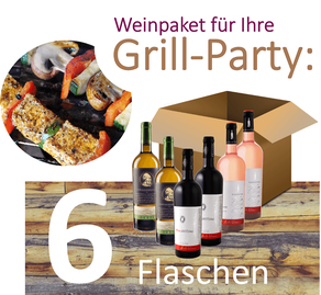 Weinpaket - Grill-Party