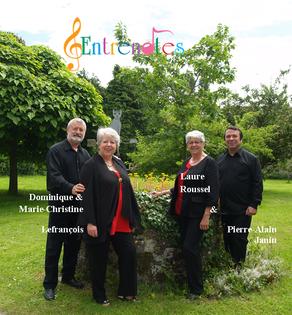 Quatuor Entrenotes-14 juillet 2017