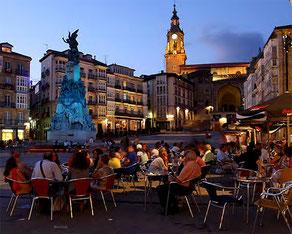 スペインガストロノミー首都2014に選ばれたビトリアの町 (www.diariodegastronomia.com)
