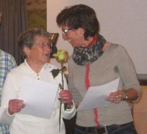 Ehrung Christa Dohrmann 40 Jahre ASV