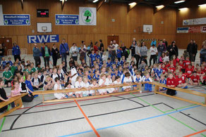 Mini-Handball-Spielfest vom 27. Januar 2018