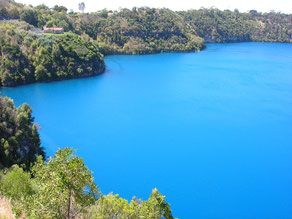 Limestone Coast, Blue Lake, Mount Gambier