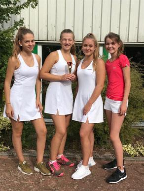 Es spielten (von links nach rechts): Linda Haag, Linda Garvels, Emma Wessels, und Jette Hafermann