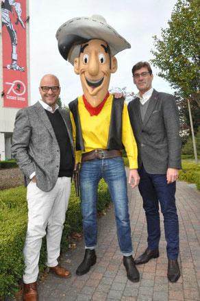Alexis Dragonetti, Lucky Luke en Hans Wils