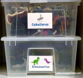 juguetes juegos organizar ordenar niños www.AorganiZarte.com